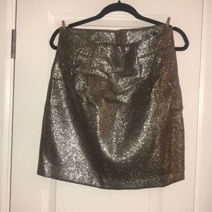 Adorable silver sparkly H&M skirt